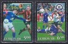 Faeroer/Faroer postfris 2004 MNH 499-500 - FIFA Voetbal