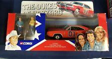 THE DUKES OF HAZZARD CORGI GENERAL LEE 1:36 DODGE CHARGER WITH METAL FIGURES