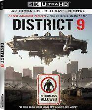 "DISTRICT 9 - [4K UHD + Blu-ray + Digital] October 13th, 2020 NEW & ""SEALED"""