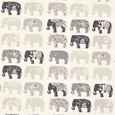 Studio G elefantes Remanente De Tela Natural 100% algodón, 50cm X 40cm