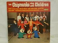 THE CHIPMUNKS - SING WITH THE CHIPMUNKS - VINTAGE VINYL LP