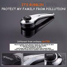 FRELLE Bubblin Home microbubble shower No filter required spa treatment eczema