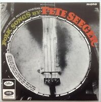 PETE SEEGER - FOLK SONGS BY - 1964 MONO LP UK CAPITOL - FREE UK POST - CLEARANCE