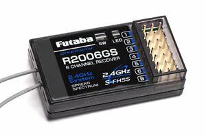 Futaba Receiver 2.4GHz S-FHSS (Air) # P-R2006GS