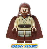 LEGO Minifigure Star Wars - Qui-Gon Jinn - sw593 Episode I minifig FREE POST