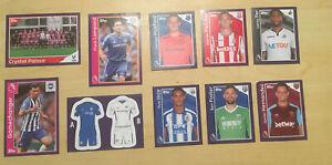 Merlin's 2018 Premier League - 10 Stickers Includes Frank Lampard (Chelsea)