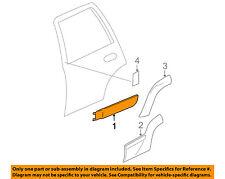 Chevrolet GM OEM 02-04 Trailblazer Exterior-Rear-Side Molding Left 88980885