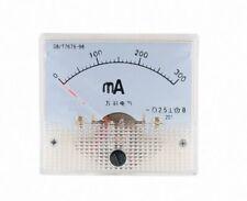 1pcs DC Analog Meter Panel 300mA AMP Current Ammeters 85C1 0-300mA Gauge