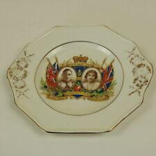 Royal Commemorative Plate - CORONATION  KING GEORGE VI & ELIZABETH 1937 - 17cms