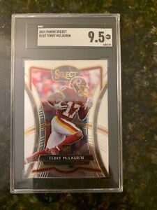 2019 Panini SELECT #152 TERRY MCLAURIN ROOKIE......SGC 9.5 MINT+!