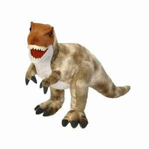 "Wild Republic Dinosauria II T-Rex 17"" Soft Plush Toy Dinosaur"