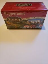 1 Celestial Seasonings Peppermint Herbal Tea, Caffeine Free, 1 box