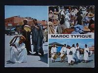 MAROC TYPIQUE POSTCARD