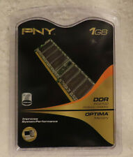 PNY 1GB DDR 333 MHz DIMM PC 2700 184 Pin Memory for Desktop (MD1024SD1-333)