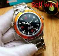 Men's Automatic Mechanical SeaMaster Homage Watch Self Wind With Rotating Bezel