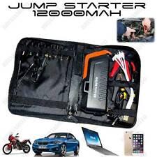STARTER AVVIATORE AUTO MOTO SMARTPHONE PC 18000 AH 5V 2A 12V 2A 19V 3,5A LIPO