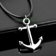 Cool Men's anchor sailor Pendant Necklace XL452