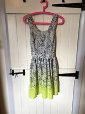 Size 10 Topshop Ombre Summer Dress, Holiday