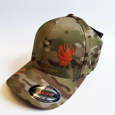 68bb93c66814a US NAVY SEAL TEAM 6 SIX CAP HAT Official Licensed multicam Black Flexfit  yupoong