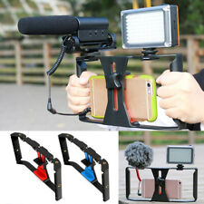 Video Camera Cage Stabilizer Film Steady Handle Grip Rig For Smartphone new tool