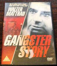 GANGSTER STORY 1960 WALTER MATTHAU CAROL GRACE GMVS UK REGION FREE DVD NEW