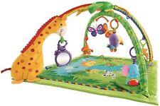 Mattel K4562 - Fisher-Price Rainforest Erlebnisdecke Krabbeldecke mit Spielbogen