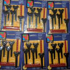 New ( 30 ) 6 Pkgs Lot Wilton Mickey Mouse Candle Holders W/ Candles Vintage 1996