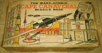 Marx Vintage Original Cape Canaveral Missile Space Era Playset w/ Box