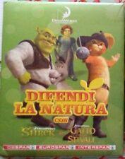 DIFENDI LA NATURA CON SHREK IL GATTO CON GLI STIVALI Despar DreamWorks album