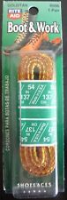 """54"""" Boot and Work Shoelaces (Gold/Tan) R096  Boot Laces,  Shoe Laces, Hiker"""