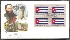 United nations Flag series SC # 533 FDC. Fleetwood