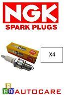 X4 NGK PFR6E-10 3688 For Renault Cilo Sport 2.0 16v Sport Espace 3.0 V6 24v