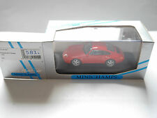 Porsche 911 (993) Coupe 1993 rot rouge roja red, Minichamps 430063007 1:43 boxed