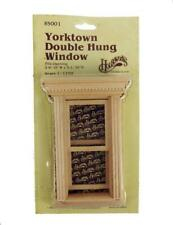 HOUSEWORKS DOLLS HOUSE WOODEN YORKTOWN DOUBLE HUNG WINDOW 1/12th #5001