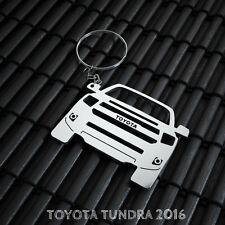 Toyota Tundra Stainless Steel Keychain