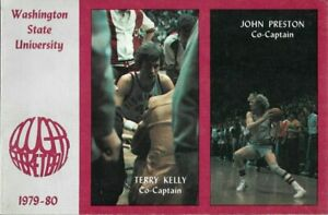 1979-80 WASHINGTON STATE COUGAR BASKETBALL (22-6) media guide, Don Collins