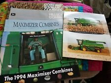 John Deere Combine Agricultural Brochures (5 Total)(Used)