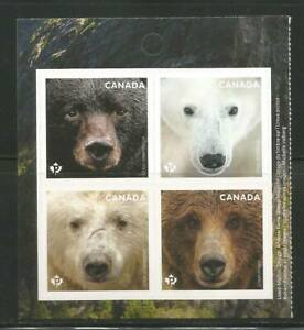 BOOKLET BLOCK   # 3191 - 3194   BEARS