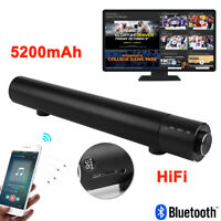SADA V-196 3D Bluetooth Wireless TV Sound Bar Speaker USB Home Theater Subwoofer