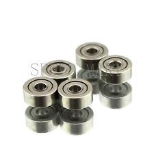 5 PCS MR52zz Mini Metal Double Shielded  Ball Bearings (2mm*5mm*2.5mm)