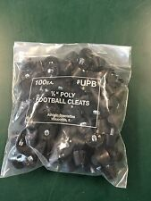 "Football Cleats Poly 1/2"" (100 per bag)"