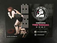 Star Wars Celebration 2017 Promo Card Yuko Umehara SandTrooper