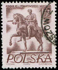 Scott # 739 - 1956 - ' Prince Joseph Poniatowski ', Warsaw Monuments