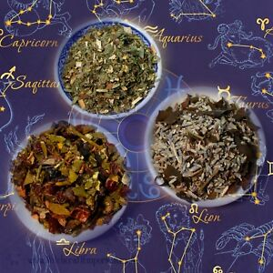 Magical Herbal Spell Mix | Zodiac Spell Blends | Witchcraft/Wicca/Pagan 125ML