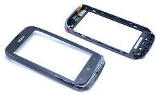 Original Nokia Lumia 610 Touchscreen Display Glas Digitizer Frame mit Hörmuschel
