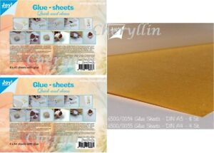 Joycrafts MICRO STICKY SHEETS - THOUSANDS of MICRO GLUE DOTS A4 OR A5 sheets