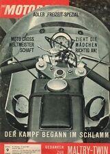 M6309 + Scott, die Geschichte + Benelli, 50 ccm + Das MOTORRAD 9 vom 27.4.1963