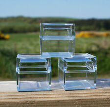 """10 x Square Insect Bug Magnifying Box Jars Nature Viewer 1.5"""" 3X Magnification"""