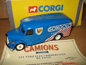 CORGI CAMION de LIVRAISON MAN VAN GONDOLO 1949 au 1/72°