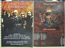 Judas Priest 2008 Nostradamus 2 sided promotional poster Flawless New Old Stock